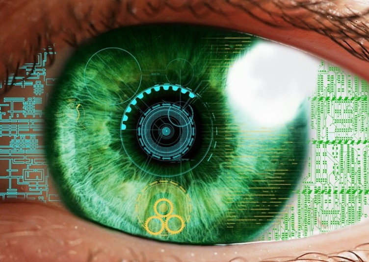 google sony lentille oeil connecté